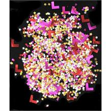 Hen Party | L Plate Multicoloured Table Confetti | Decoration