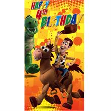 Disney Toy Story Age 4 Greeting Card