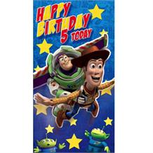 Disney Toy Story Age 5 Greeting Card