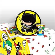 Batman vs Joker 8 to 48 Guest Starter Party Pack - Tablecover | Cups | Plates | Napkins