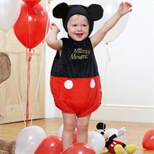 Mickey Mouse Plush Baby Tabard Costume with Hat