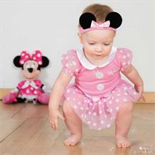 Minnie Mouse Baby Bodysuit Costume with Hat