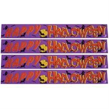 Happy Halloween Foil Banner | Decoration