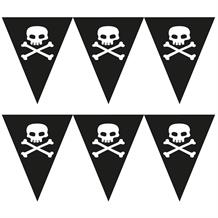 Skull and Crossbones | Pirate Flag Banner | Bunting | Decoration