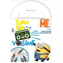 Despicable Me Minion Carry Along Travel Colouring Pack