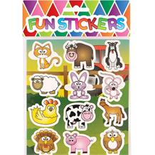 Farm Animal Sticker Sheet Party Bag Filler | Favour