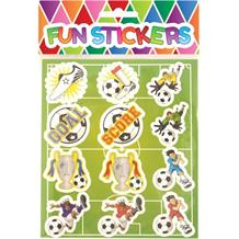 Football Sticker Sheet Party Bag Filler | Favour