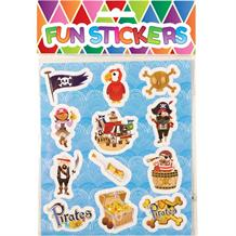 Boys Pirate Sticker Sheet Party Bag Filler | Favour