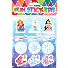 Ice Princess Sticker Sheet Party Bag Filler | Favour