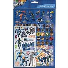 Thunderbirds Mega Sticker Pack 150 Stickers