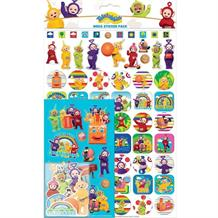 Teletubbies Mega Sticker Pack 150 Stickers
