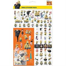Despicable Me 3 Minions Mega Sticker Pack 150 Stickers