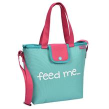 Polar Gear Mint Green Feed Me Insulated Packed Lunch Cooler Tote Bag