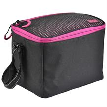 Polar Gear Active Personal Lunch Cooler Bag Pink Optic Dot