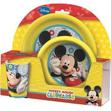 Mickey Mouse PP Tumbler | Bowl | Plate Mealtime Set