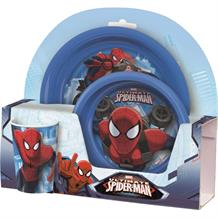 Ultimate Spiderman Tumbler | Bowl | Plate Mealtime Set