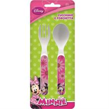 Minnie Mouse PP Mealtime Cutlery Spoon & Fork