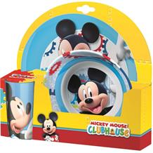 Mickey Mouse Tumbler | Bowl | Plate Mealtime Set