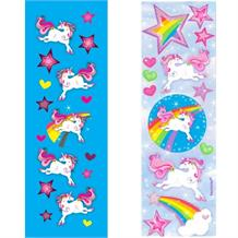 Unicorn Magic Party Bag Favour Sticker Sheet