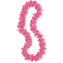 Hot Pink Flower Hawaiian Lei