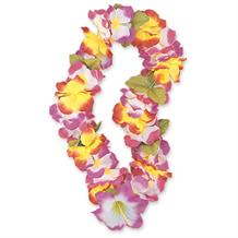 Lily Flower Rainbow Hawaiian Lei