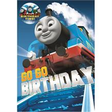 Thomas The Tank Engine Happy Birthday Card & Badge