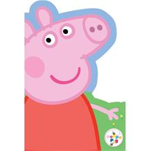 Peppa Pig Glitter Happy Birthday Greeting Card