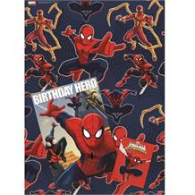 Ultimate Spiderman Card, Giftwrap & Tag Set