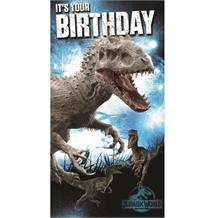Jurassic World Its Your Birthday Greeting Card