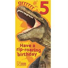 Dinosaur | National History Museum Age 5 Grrrrrr Greeting Card