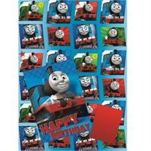 Thomas the Tank Engine Card, Giftwrap & Tag Set