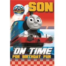 Thomas the Tank Engine & Friends Happy Birthday Son Gift Card