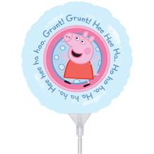 Peppa Pig Mini Round Balloon