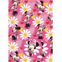 Minnie Mouse Gift Wrap -  2 Sheets, 2 Gift Tags