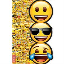 Emoji Icons Blank Greeting Card