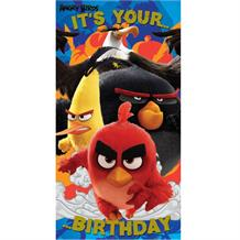 Angry Birds Its Your Birthday Card