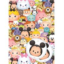 Disney Tsum Tsum Gift Wrap -  2 Sheets, 2 Gift Tags