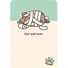 Pusheen Get Well Soon Greeting Card