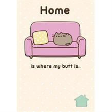 Pusheen New Home | House Move Greeting Card