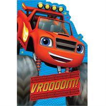 Blaze and the Monster Machines 'Vroooom!' Greeting Card