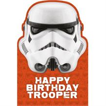 The Original Storm Trooper Happy Birthday Greeting Card