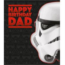 Stormtrooper | Star Wars Dad Happy Birthday Greeting Card