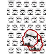 The Original Storm Trooper Gift Wrap -  2 Sheets, 2 Gift Tags