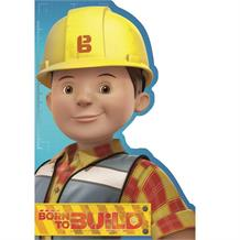 Bob the Builder Born to Build Happy Birthday Greeting Card