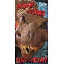 Dinosaur | Natural History Museum Roar-Some T-Rex Birthday Greeting Card