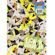 Lion Guard Gift Wrap -  2 Sheets, 2 Gift Tags