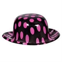 1950's Rock & Roll Mini Polka Dot Party Favour Hat