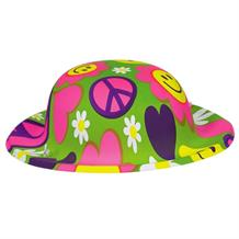 1960's Groovy Mini Party Favour Hat