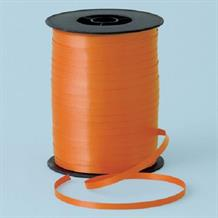 Orange Curling Balloon Ribbon
