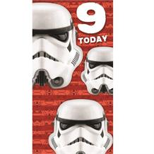 Stormtrooper | Star Wars 9th Birthday Greeting Card